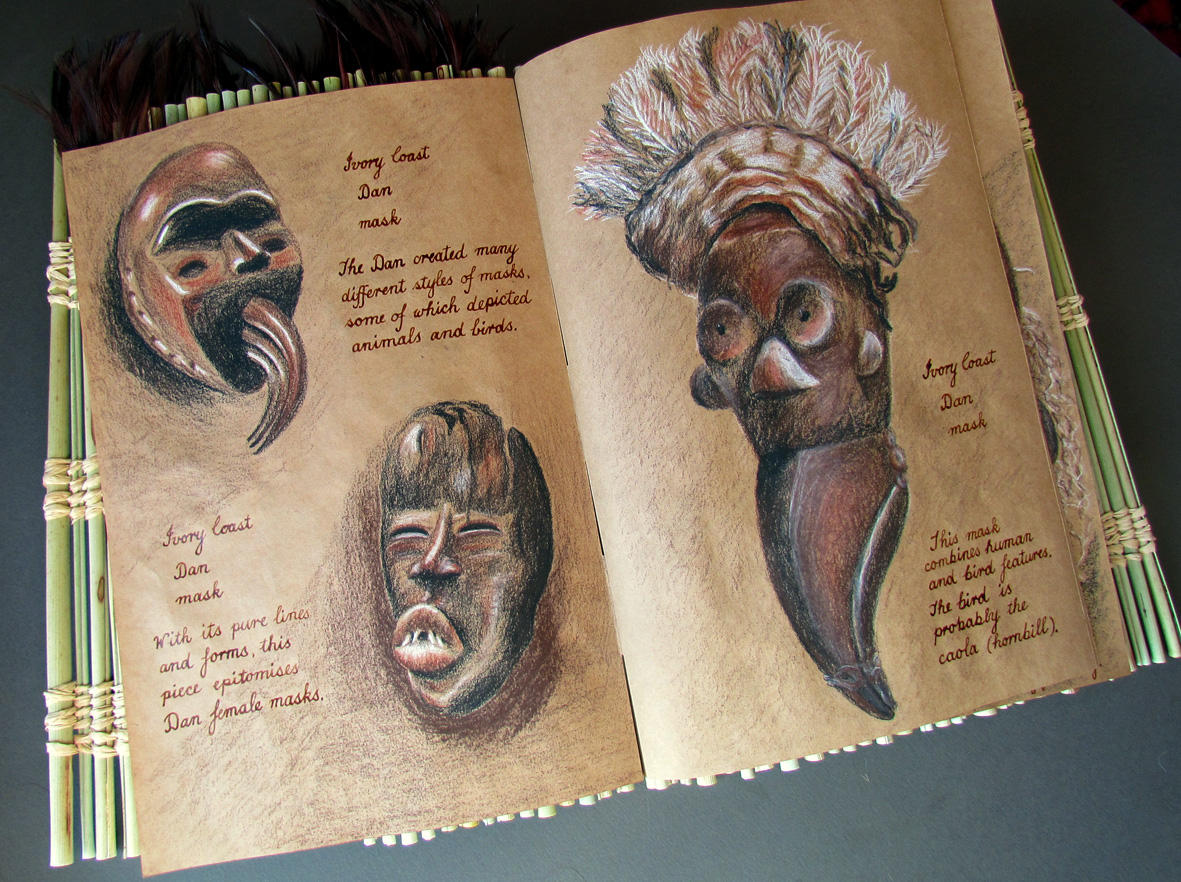 ivory coast dan masks