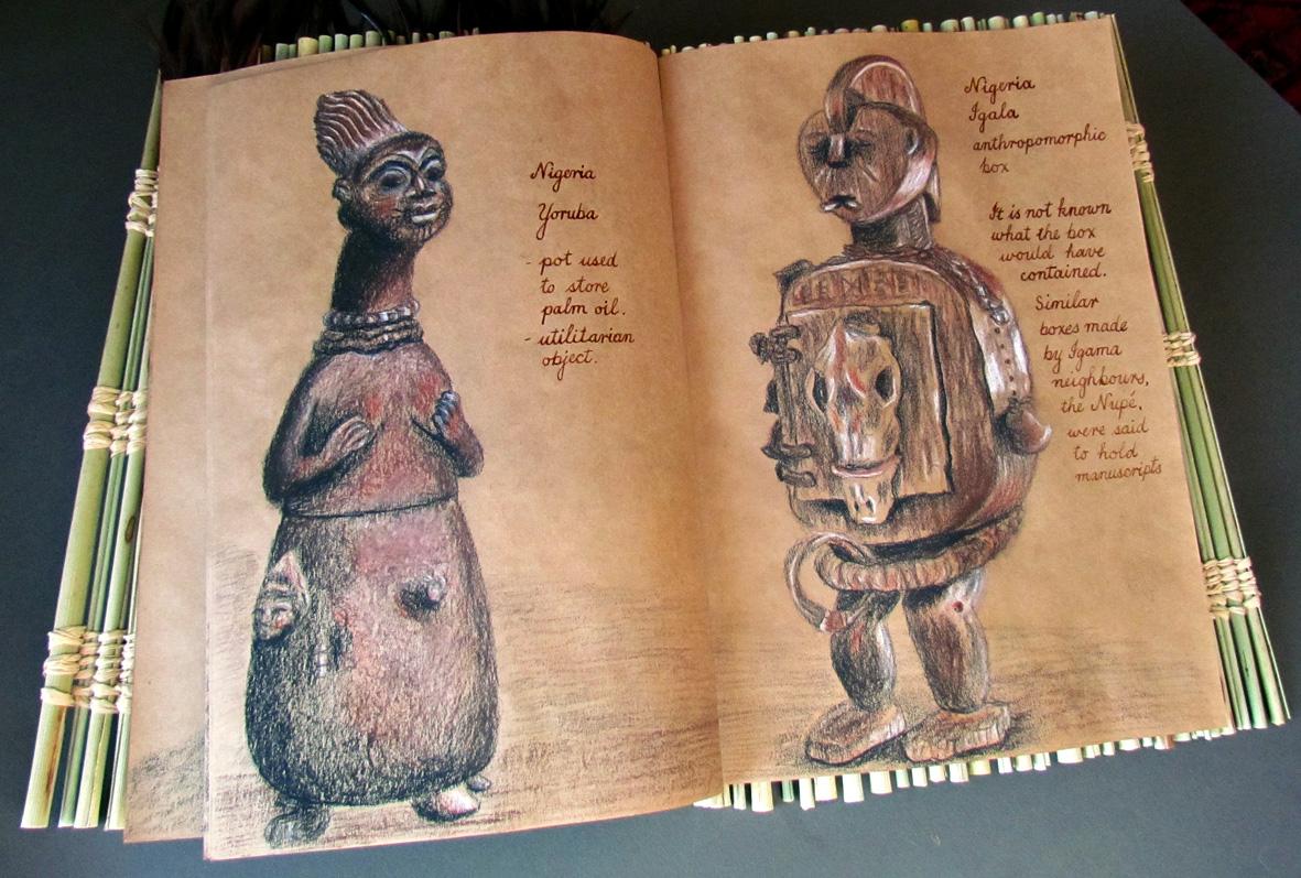 Nigerian statues