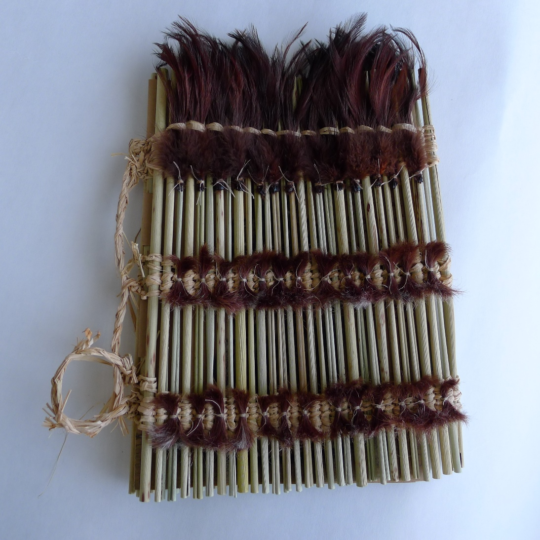 skewer spine (rolled flax rod)