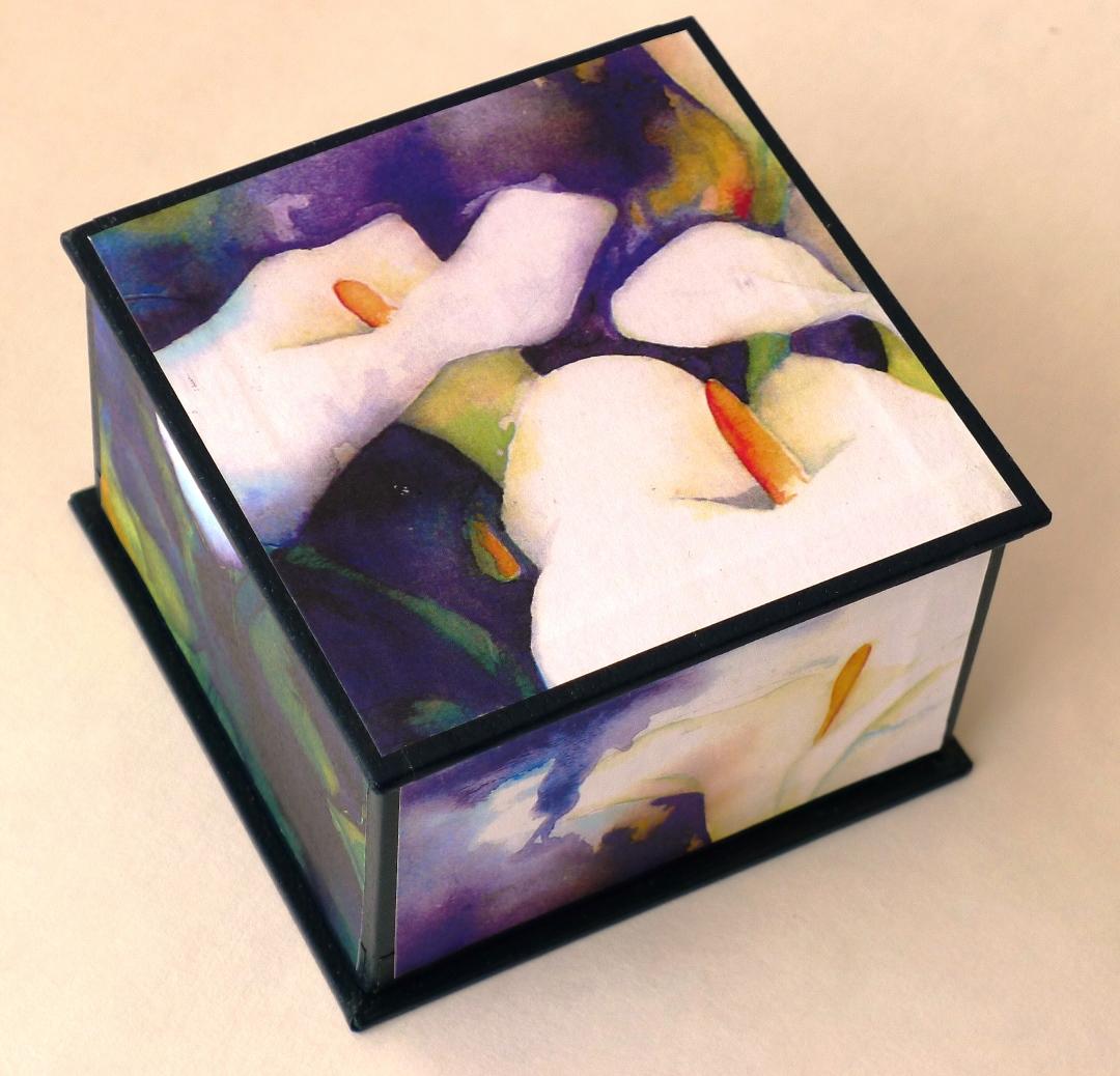 trinket-box-watercolour-lilies