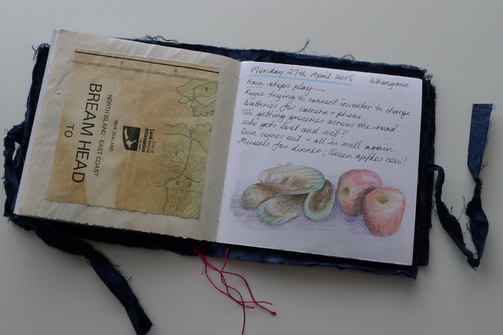soft-cover-journal-map-page