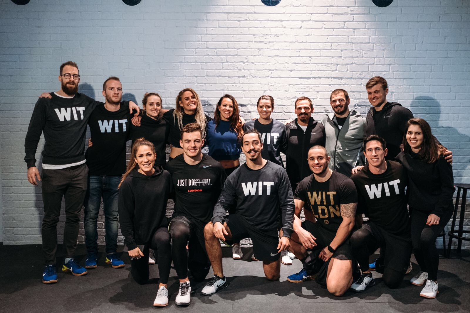 Team WIT with the Crossfit Games Champions (January 2018)