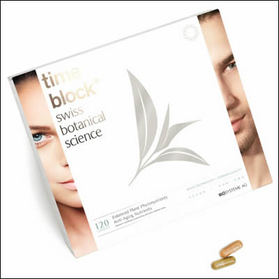 time block skin products