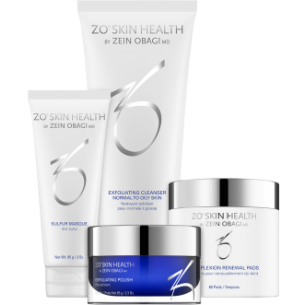 ZO ACNE PREVENTION AND TREATMENT PROGRAM