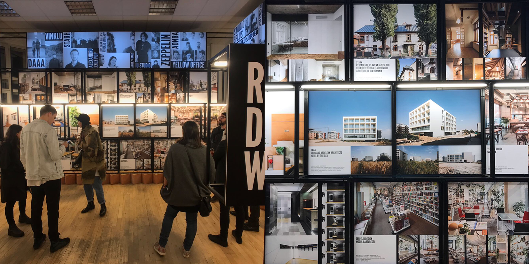 HOTEL BY THE SEA presentation at Romanian Design Week 2019 - DAAA presented the Hotel by the sea project in the main exhibition of RDW 2019, May 17-26, at BCR Palace, Piața Universității / University Square, Bucharest, Romania.