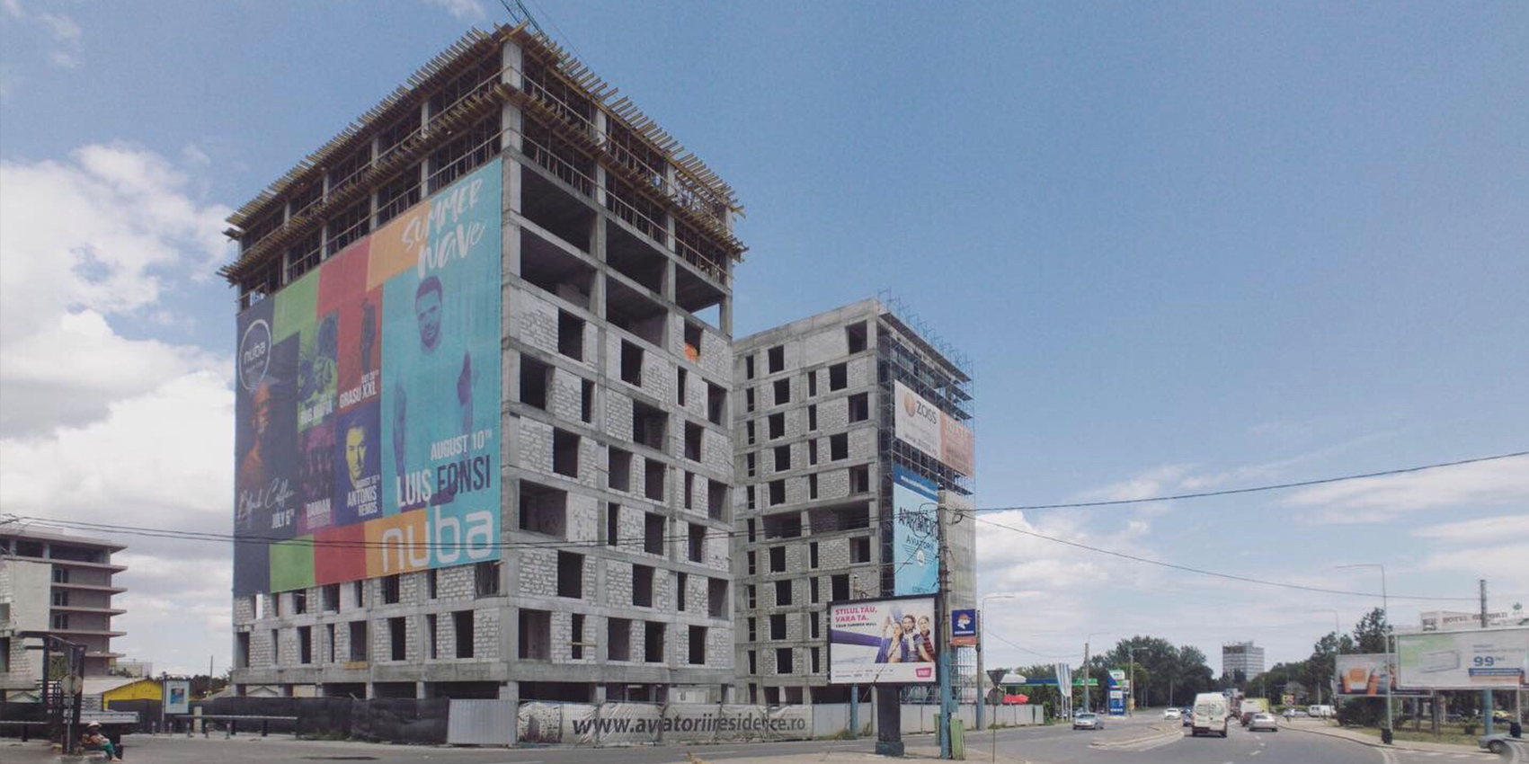 AVIATORII RESIDENCE construction reached the 10th floor - More details coming soon!