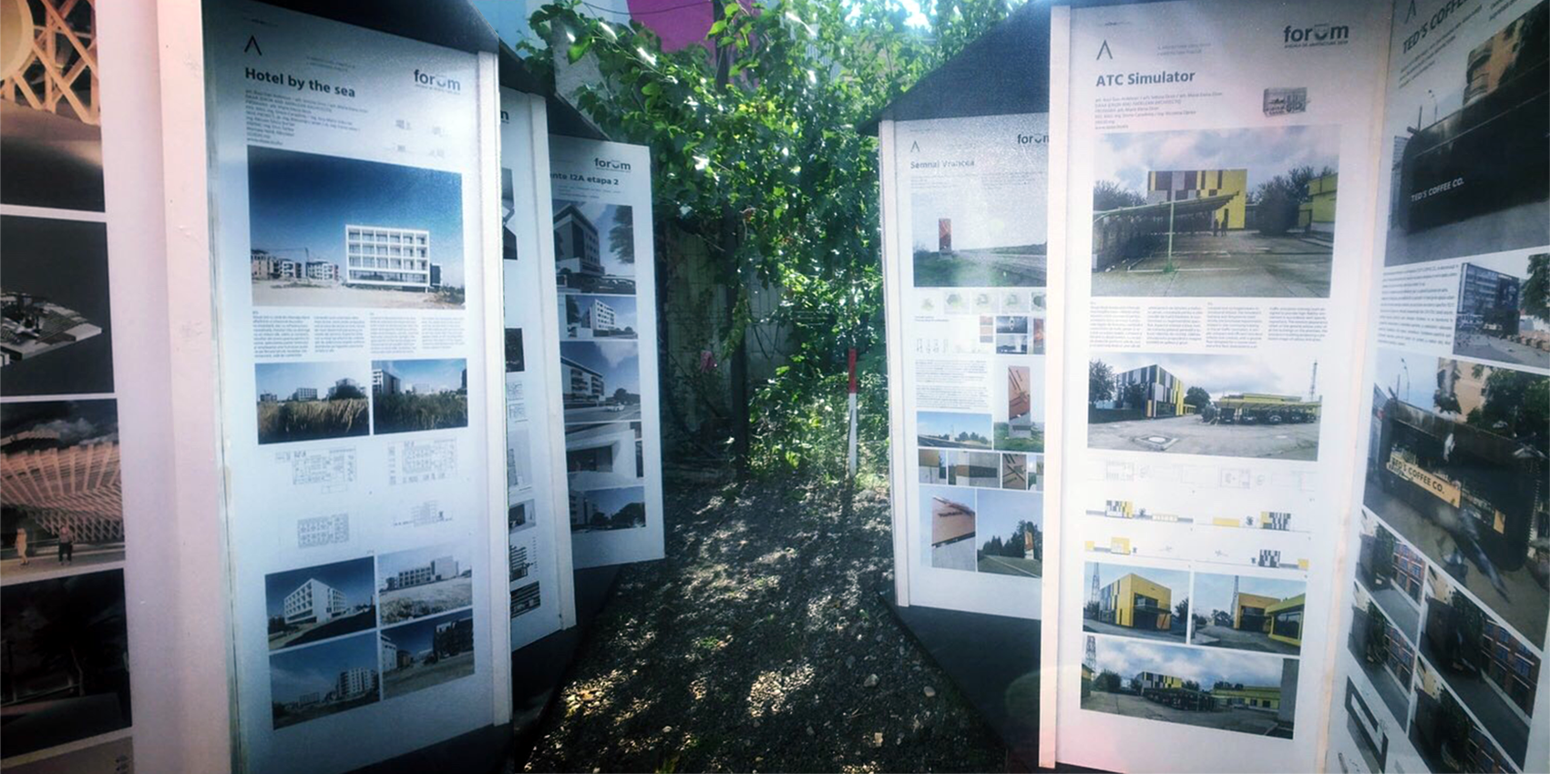 DAAA projects outdoor presentation at Mercato Comunale, as part of the events of The Bucharest Architecture Annual / Anuala de Arhitectură București 2019 - Hotel by the sea and ATC Simulator projects will be presented in AAB 2019 outdoor exhibition at Mercato Comunale, 28 - 34 Gheorghe Polizu Street, Bucharest, starting from July 17.More details here:https://www.facebook.com/MercatoCB/