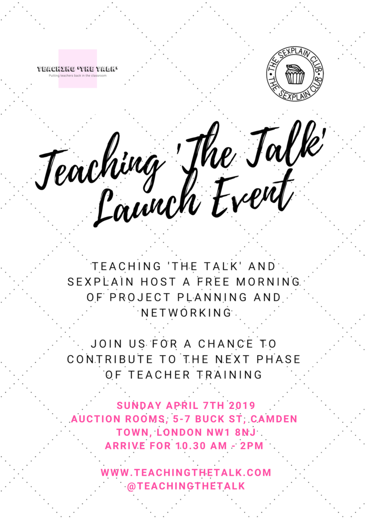 Teaching The Talk event