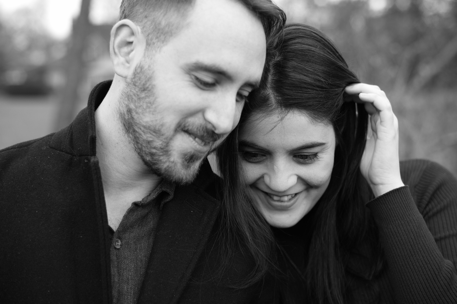 Engagement shoot in the UK