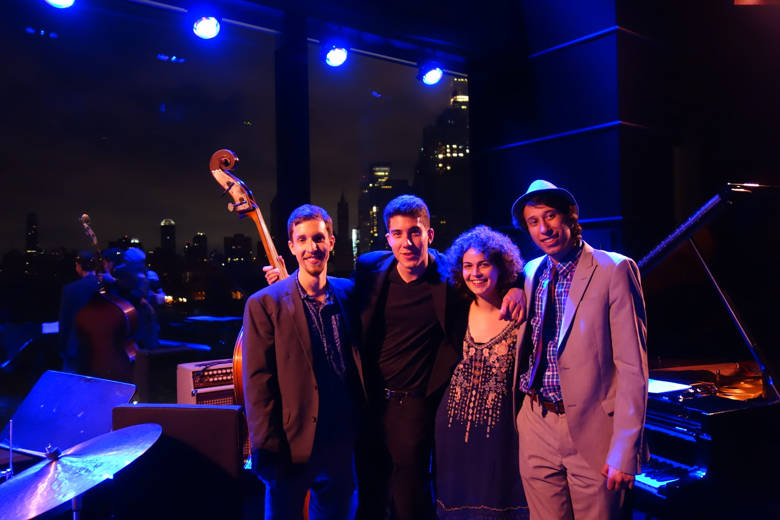 After the gig with the Zoe Obadia Quartet