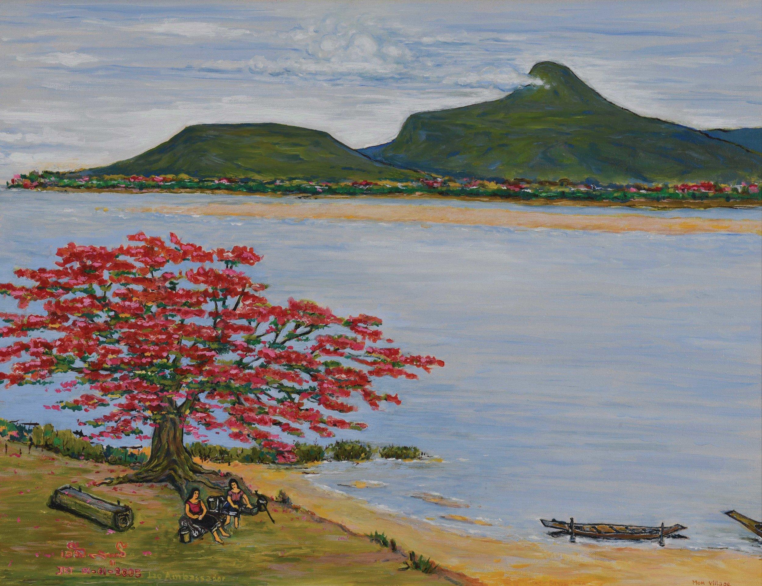 Leuane Sombounkhan (Laotian, 1936-2009)