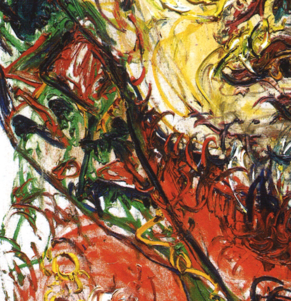 AFFANDI  A LANDMARK SELF PORTRAIT FROM THE 1950s