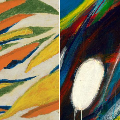 THE OUTLIERS: CHIN SUNG & NASHAR 亚洲战后 抽象艺术的流浪者: 秦松/纳沙  ART FORMOSA 2018 12 - 15 AUGUST 2018