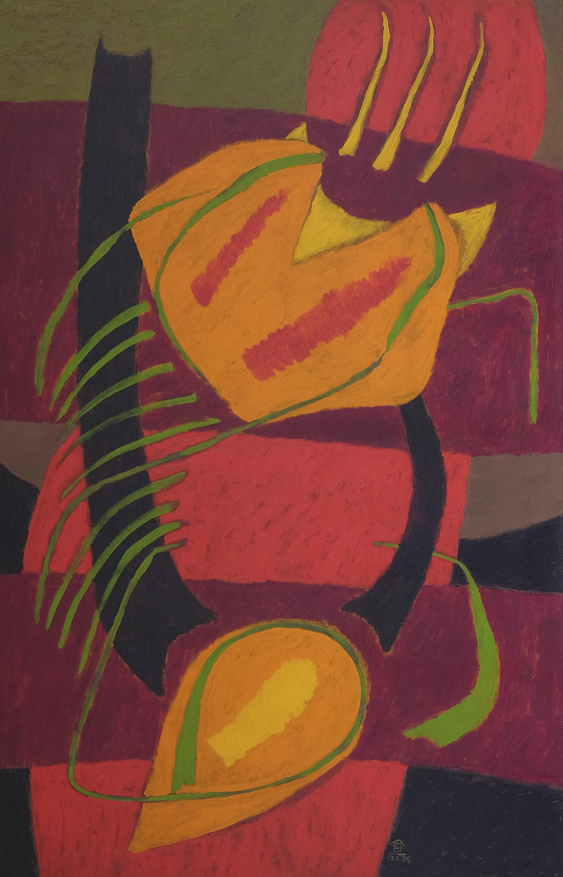 Nashar, Bertumbuh (Growth), ooc, 137 x 88 cm, 1979.jpeg