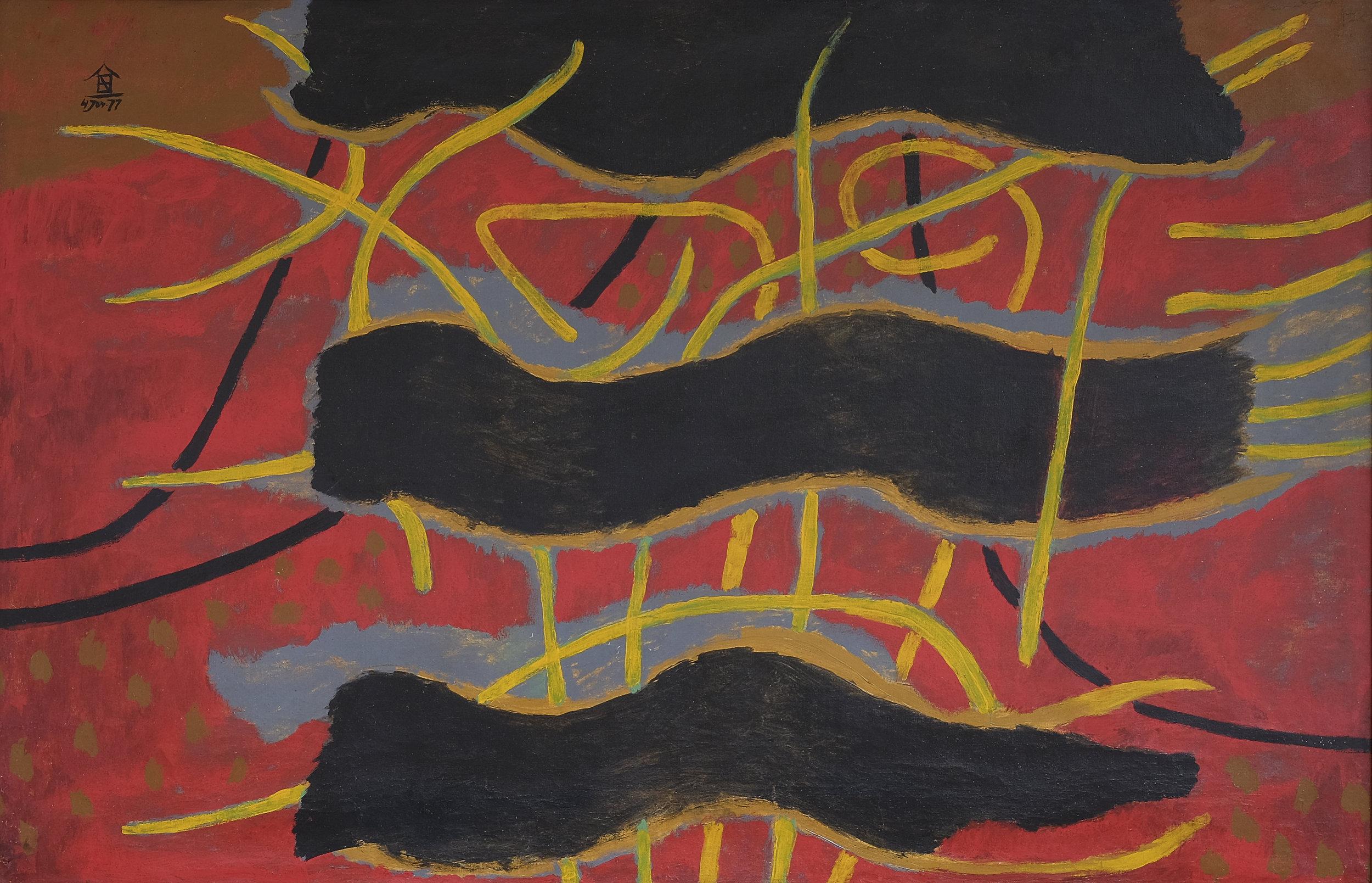 Nashar, Larut Malam, ooc, 90 x 138 cm, 1977.jpeg