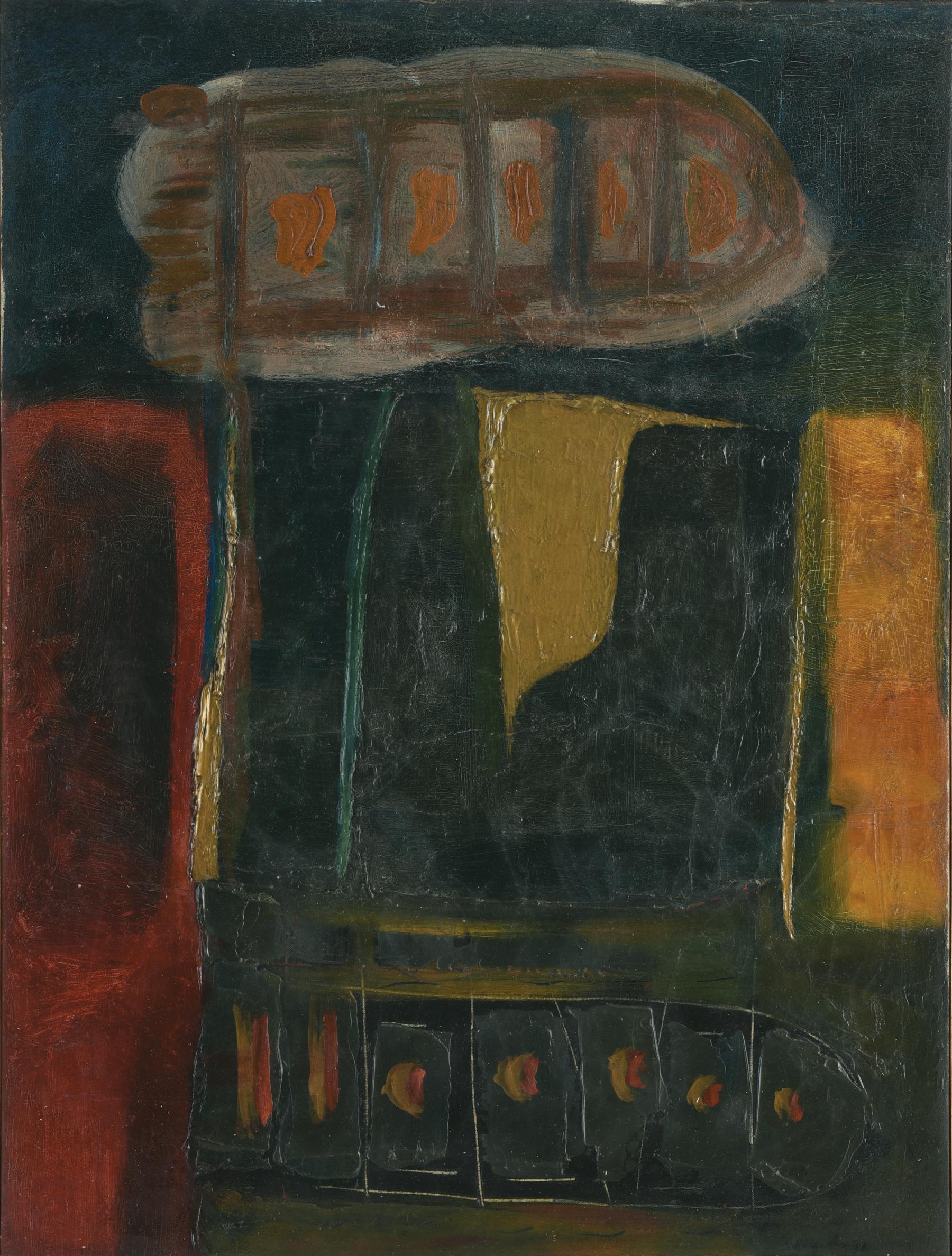 Umi Dachlan, Contemplation, ooc, 100 x 95 cm, 1998.jpg