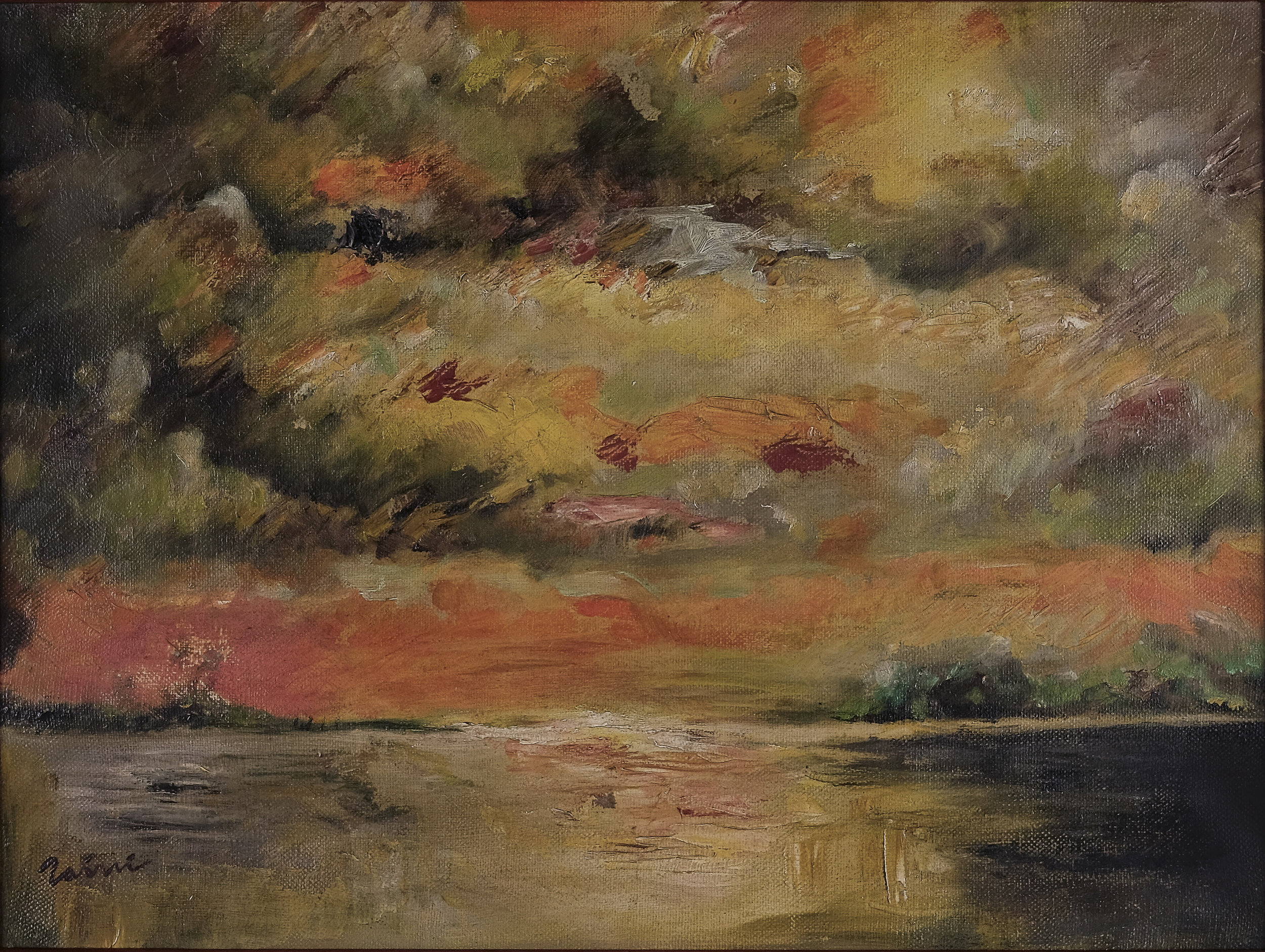 Zaini, Lembayung Senja (Crimson Dusk), ooc, 30 x 40 cm, 1970s.jpg