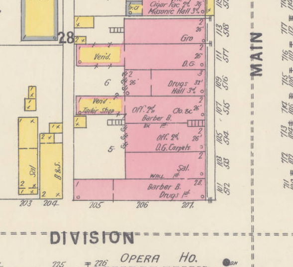 1898 Sanborn Fire Insurance Map