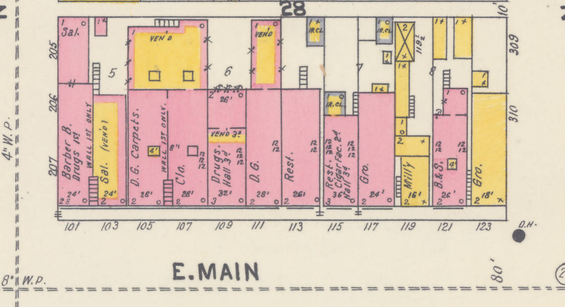 1904 Sanborn Fire Insurance Map