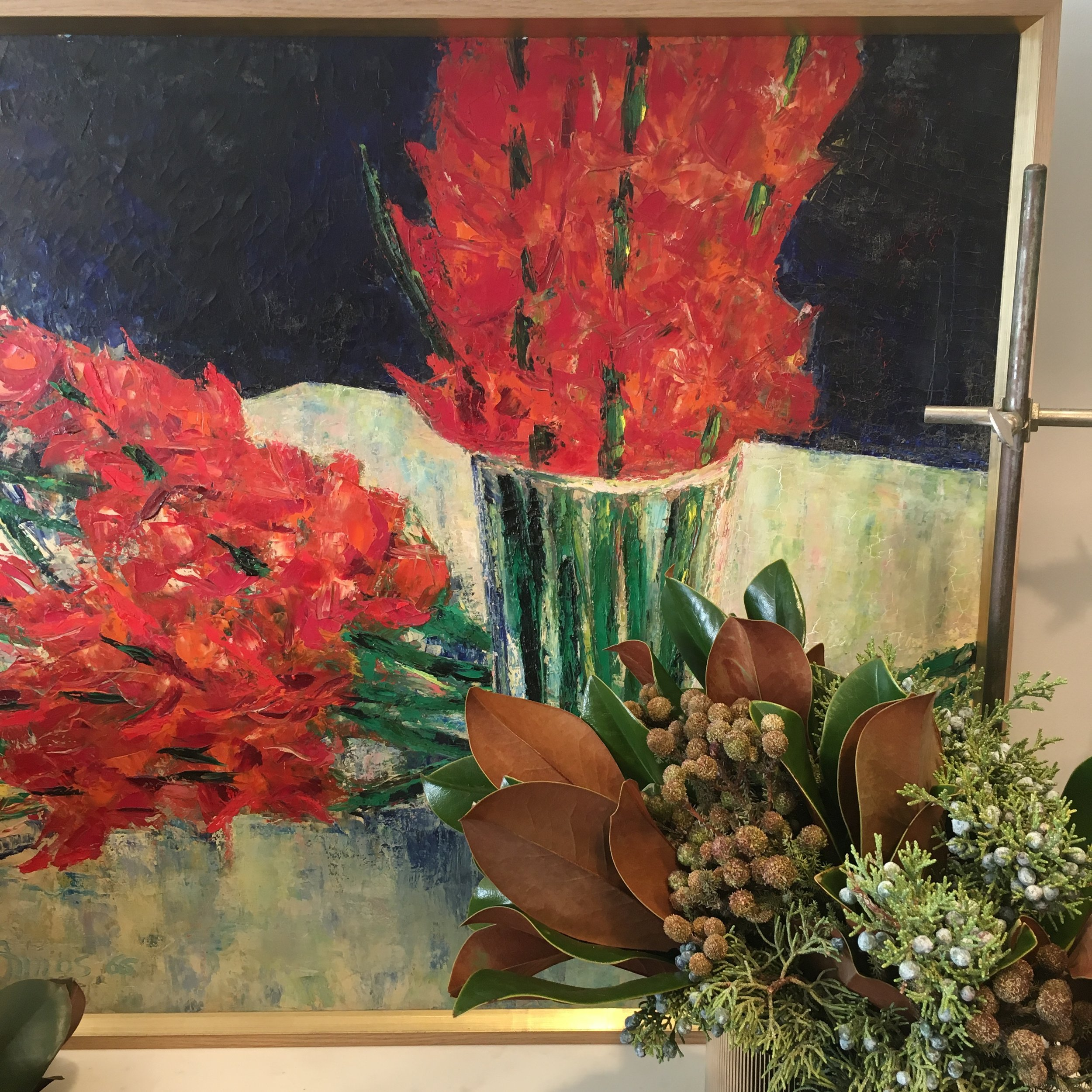 RED FLOWERS, DETAIL