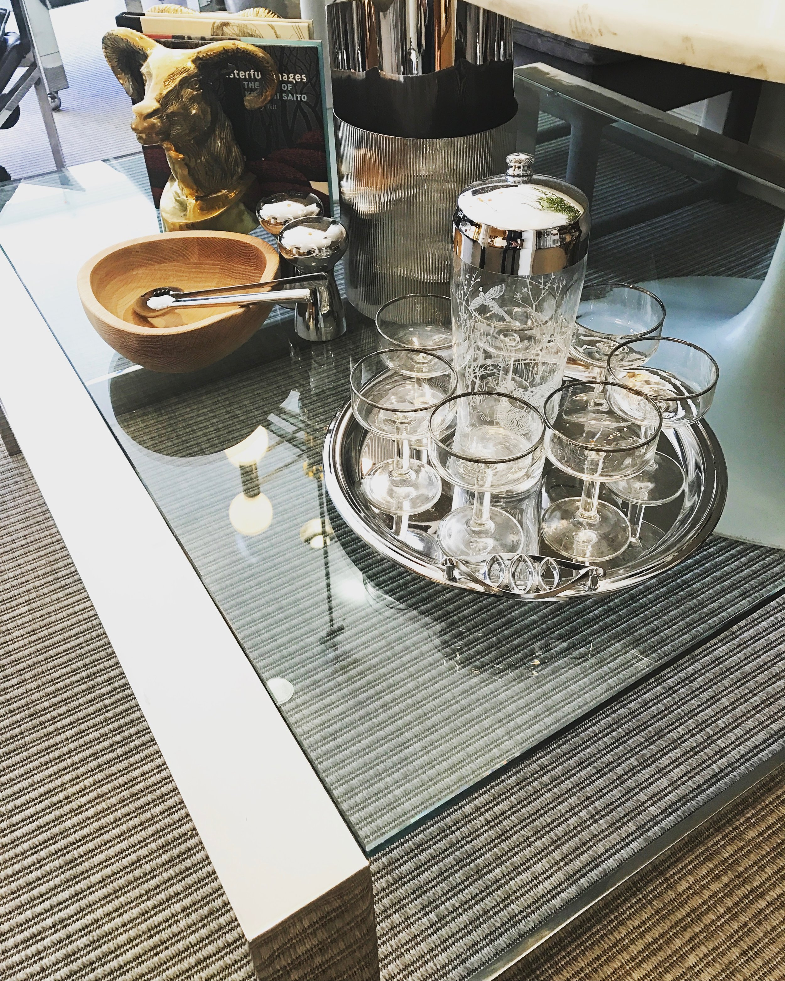 SQUARE MID C COFFEE TABLE