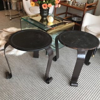 FRENCH TABLES/STOOLS