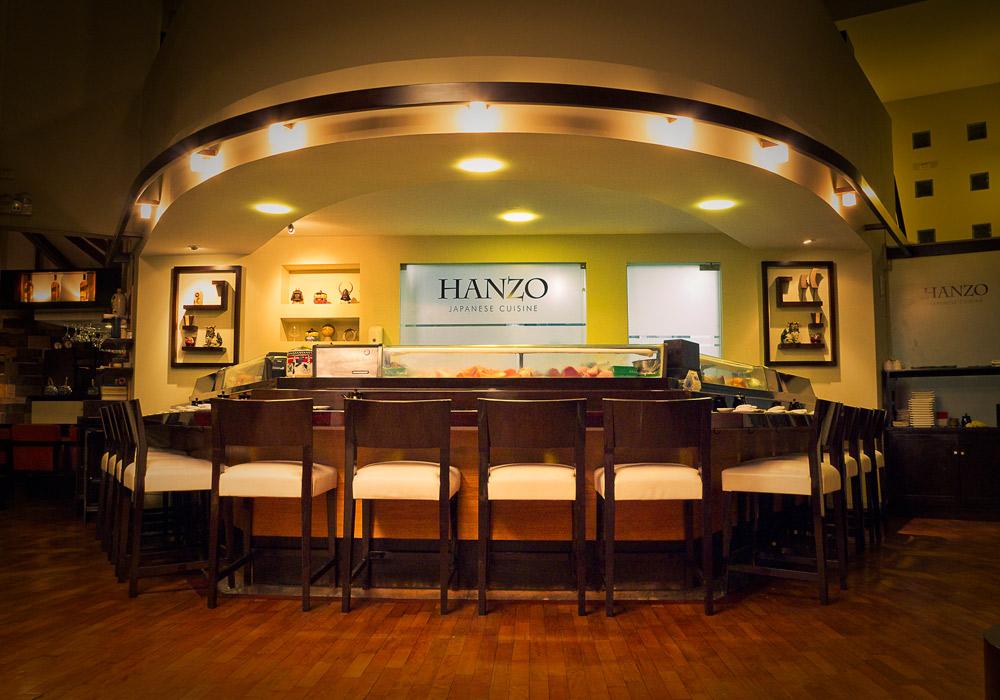 HANZO SAN ISIDRO  Av. Conquistadores 598. Perú Telefono: + 51 1 4226367 www.hanzo.com.pe  reservas@hanzo.com.pe