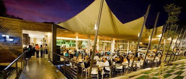 LA MAR  Avenida Nueva Costanera, 4076, Vitacura, Santiago, Chile. Telefono: +56 2 2206 7839 www.lamarcebicheria.cl