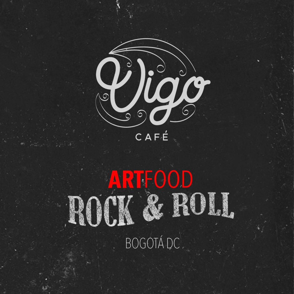 art food rock & roll vigo cafe colombia