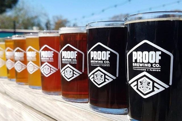 PROOF BREWING CO  Address:644 McDonnell Drive Tallahassee, Florida 32310 Phone:+1 (850) 577-0517 Web: http://www.proofbrewingco.com  Email: info@proofbrewingco.com  @facebook: https://www.facebook.com/PBCBeer/  @instagram: https://www.instagram.com/proofbrewingco/  @twitter: https://twitter.com/ProofBrewingCo