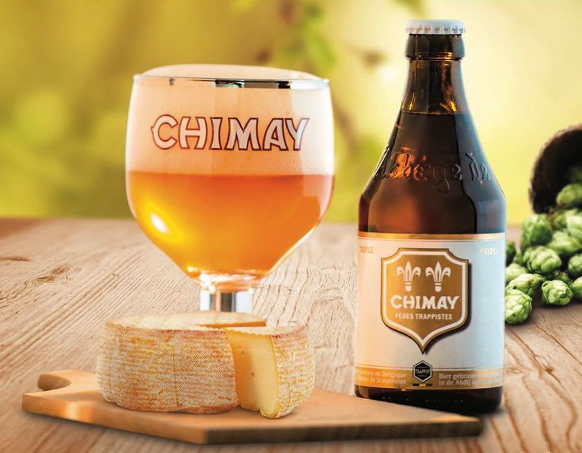 CHIMAY  Address: Route Charlemagne 8 (8.791,55 km) 6464 Chimay Phone: +32 60 21 03 11 Web:  http://chimay.com   @facebook   @instagram   @twitter