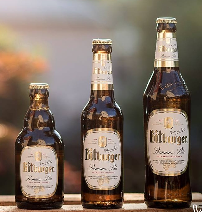 BITBURGER BREWERY  Address: Römermauer 3, 54634 Bitburg Phone: +49 6561 140 Web:  https://www.bitburger.de/   @facebook   @instagram