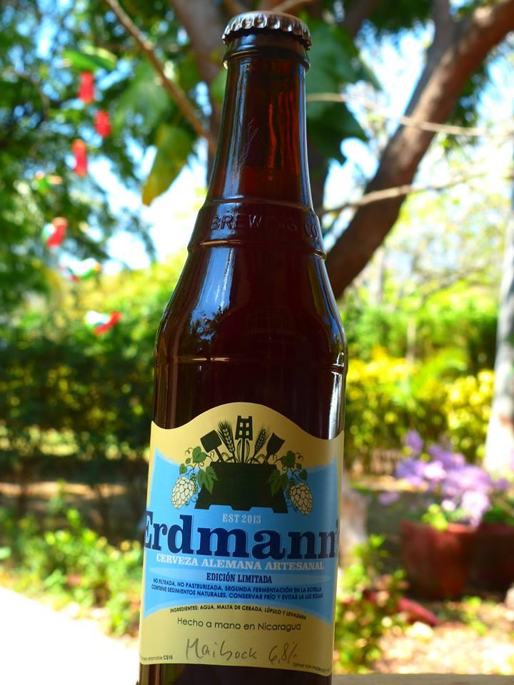 ERDMANNS  Address:Km 11 carretera a Masaya del hotel contempo 1c al lago 1 arriba porton negro casa 3. Managua Phone:+505 7803 1963 Web: http://www.ojonicaragua.com/cerveza-artesanal.html   @facebook