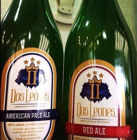 DOS LEONES  Web: http://www.dosleones.com.ve/  Email: cerveceriadosleones@gmail.com   @twitter