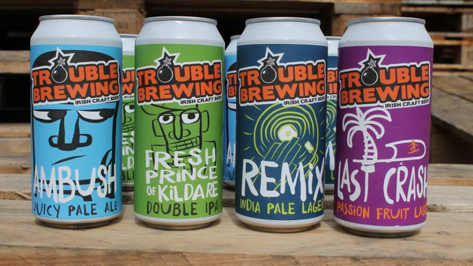 TROUBLE  Address:Old Mill (8.123,20 km) Kill, Kildare, Ireland Web: http://troublebrewing.ie/  Email: info@troublebrewing.ie    @facebook   @twitter