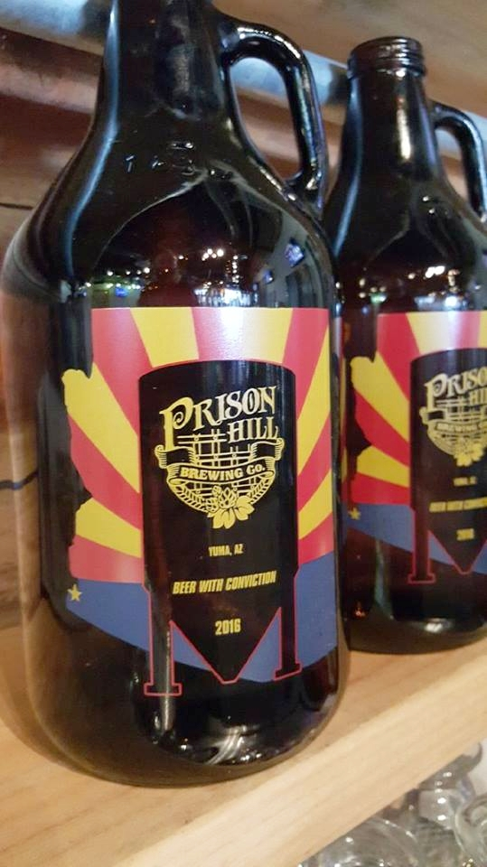 PRISON HILL BREWING COMPANY  Address: 278 S. Main St. Historic Downtown Yuma, Arizona 85364 Phone: +1 928-276-4001 Web:  https://www.prisonhillbrewing.com/  @facebook:  https://www.facebook.com/Prisonhillbrewco  @instagram:  https://www.instagram.com/prisonhillbrewco/  @twitter:  https://twitter.com/PrisonHill