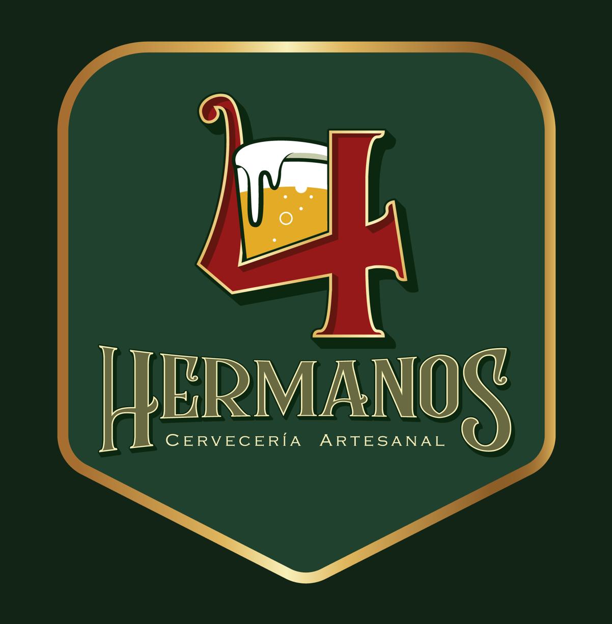 4 HERMANOS CERVECERÍA   @facebook   @instagram
