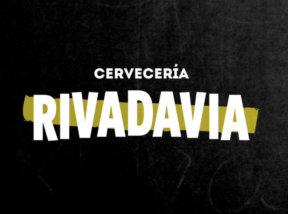 CERVECERÍA RIVADAVIA   @facebook   @  instagram