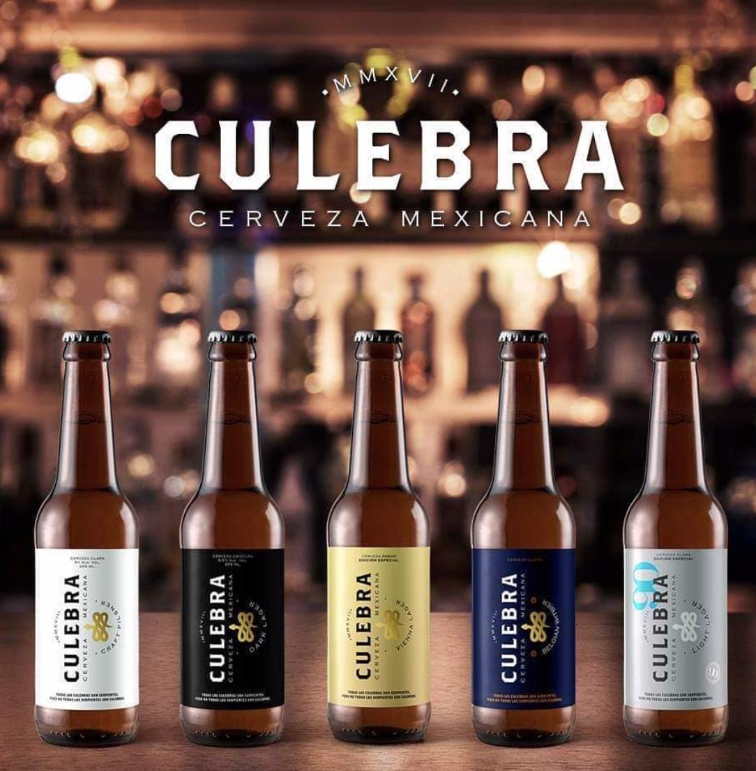 CULEBRA CERVEZA MEXICANA   @facebook   @instagram