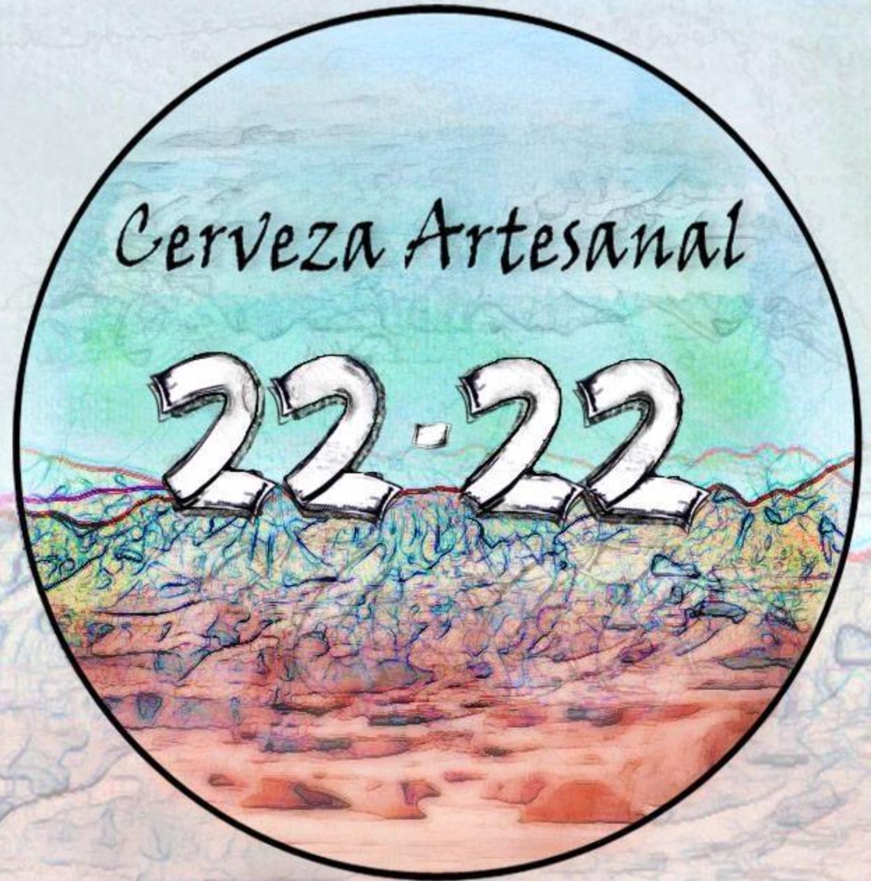 CERVEZA ARTESANAL 22.22   @facebook   @  instagram