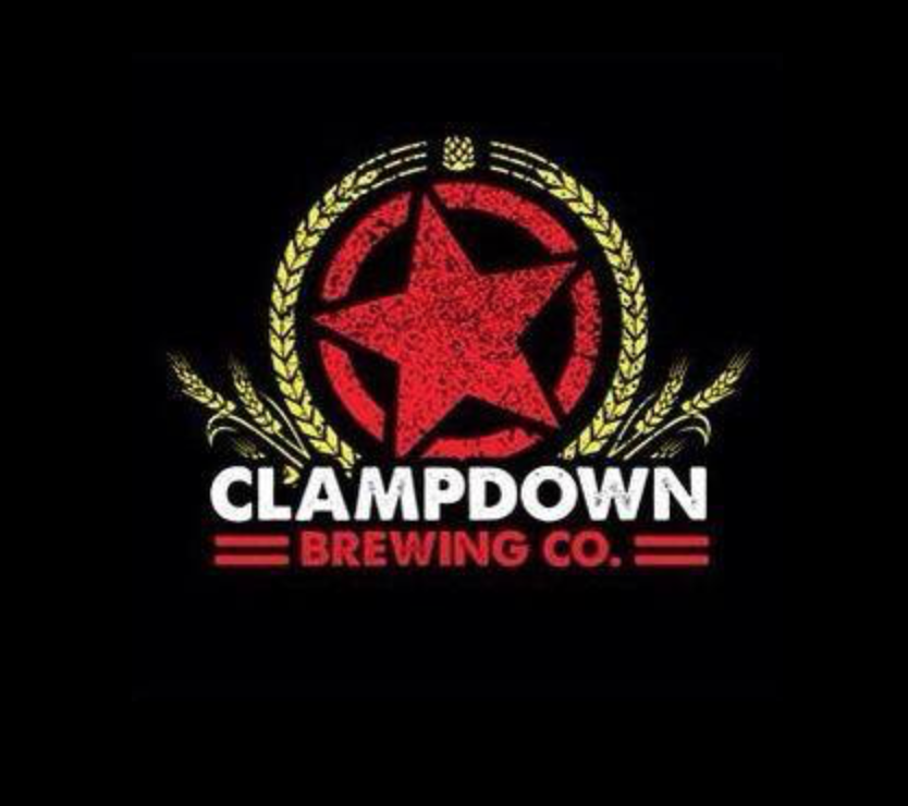 CLAMPDOWN BREWING CO.   @facebook   @instagram