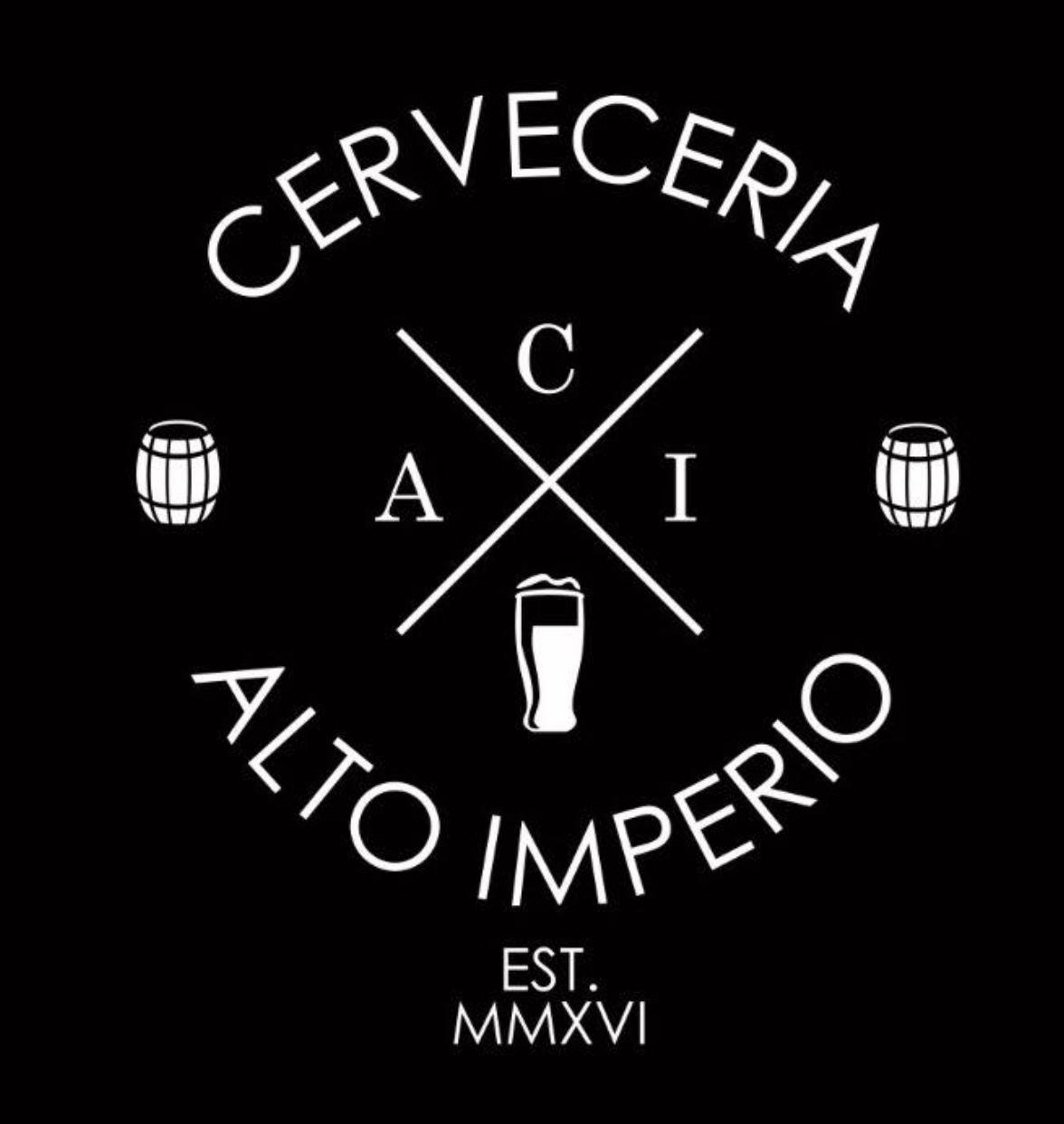 CERVECERÍA ALTO IMPERIO   @facebook   @instagram
