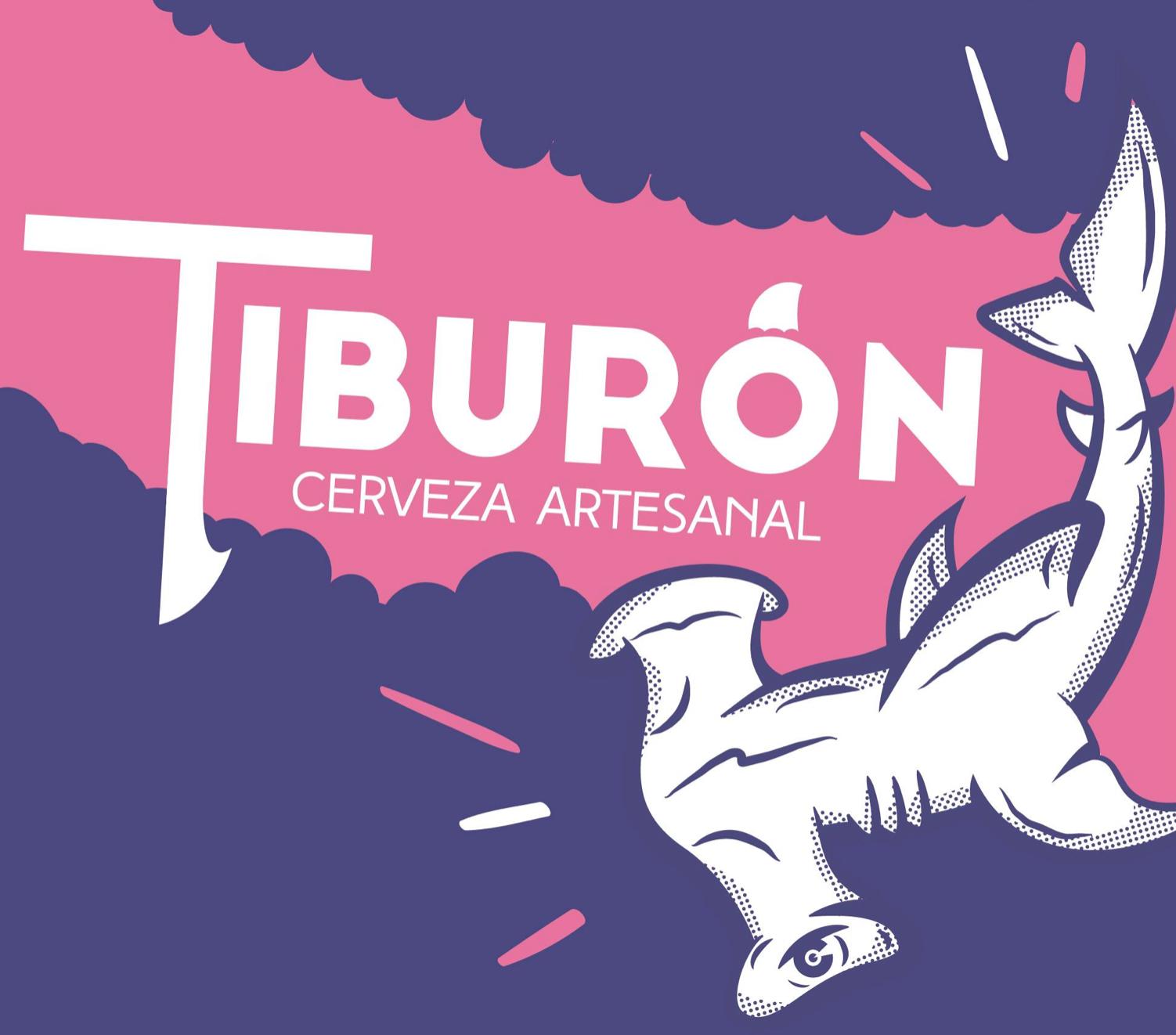 CERVEZA ARTESANAL TIBURÓN   @facebook   @instagram