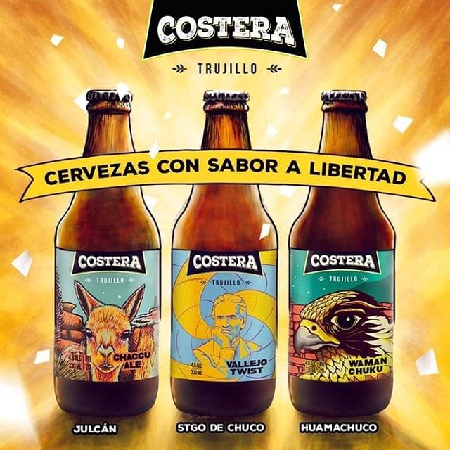 Nos encanta @cerveceriacostera #craftbeer #peru #trujillo #cervezaartesanal #cervezaartesanalperu #cervezaartesanaltrujillo #craftbeerlover #craftbeersguide @craftbeersguide @guiadecervezas @artfoodtv #artfoodtv #artfoodperu #artfoodtrujillo #beersofperu #peruviancraftbeer