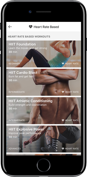 6 New Workouts  4 new high-intensity body-weight circuit workouts and 2 new high-intensity running workouts