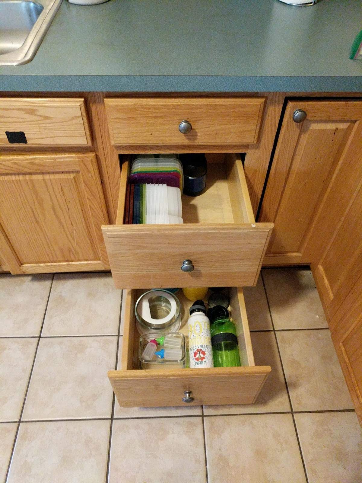The lunch drawer