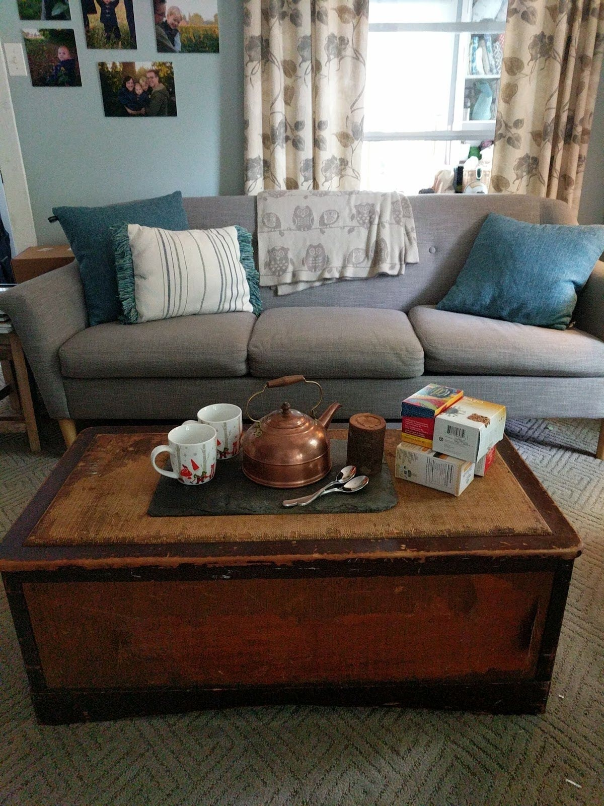 A space for tea and company
