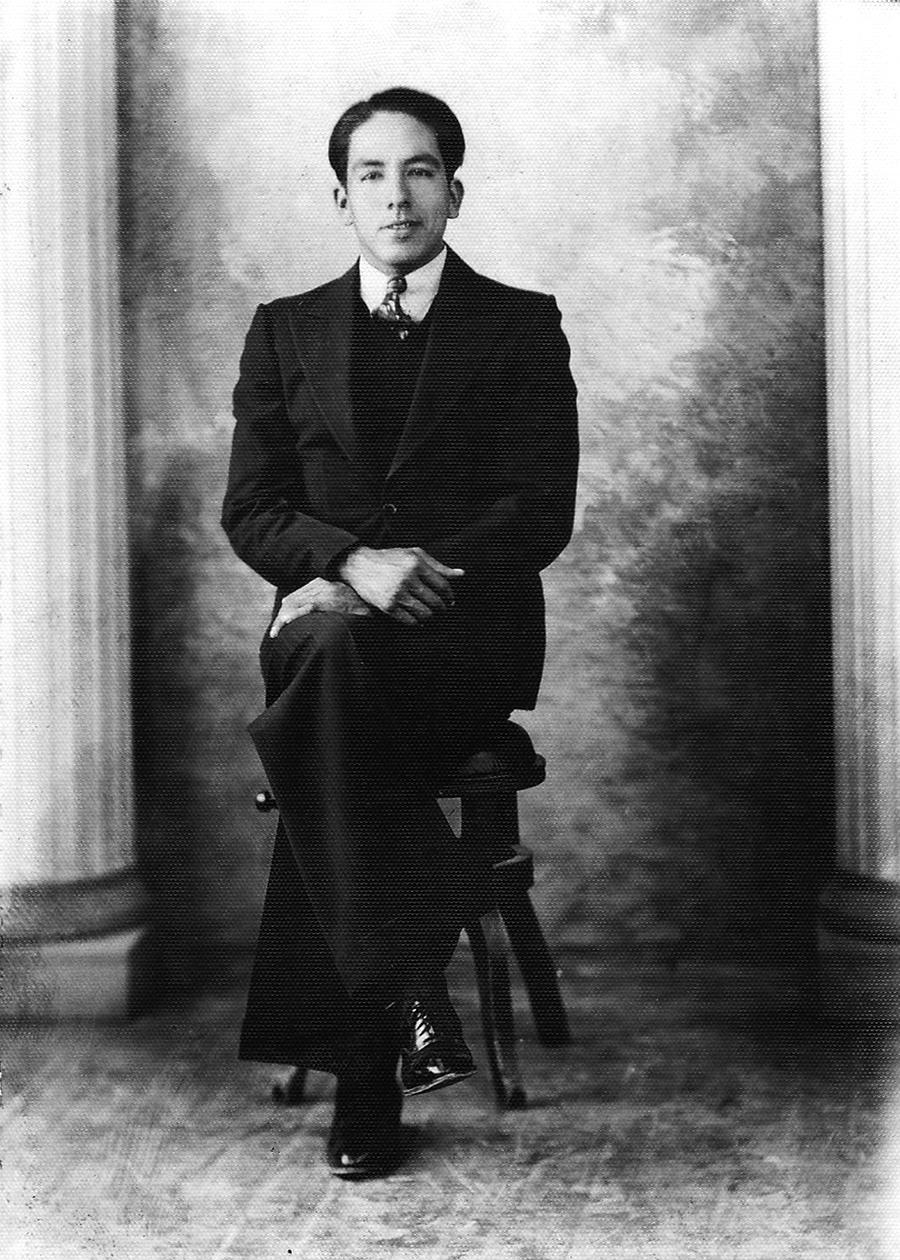 Bernabé Cervera Rejino, 1938.