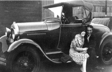 Author's parents, Chicago (ca. 1920s).
