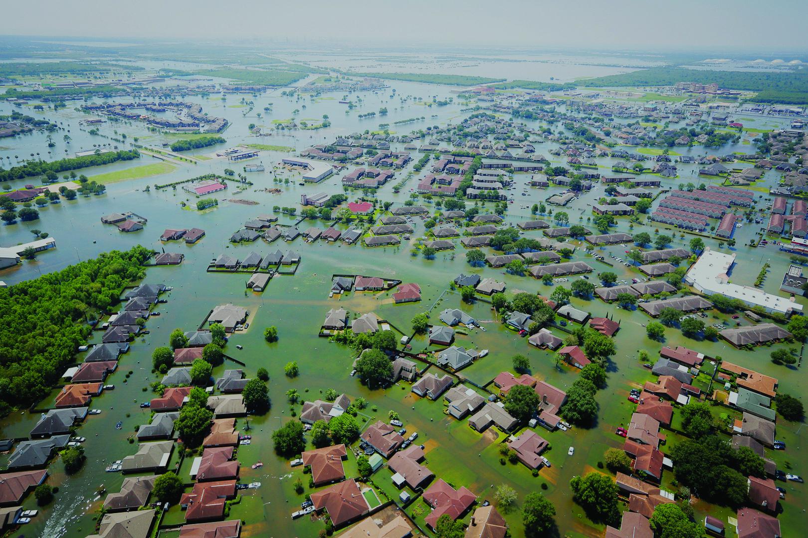 Flooding in Houston--Hurricaine Harvey